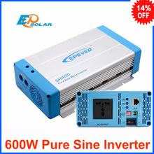 600w 600watts pure sine wave off grid tie inverter for solar panel dc 12v 24v input to 220v 240v output EPsolar(China)