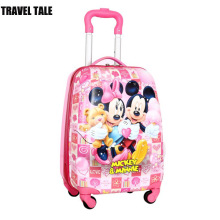 "TRAVEL TALE 16""18 inch mickey suitcase kids luggage small child suitcase on wheels"