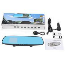 New Arrival 1080P 2.8 inch HD LCD Car Mirror Camera HD Vehicle DVR Cam Recorder Dashboard may18