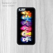 Latest design my little pony style Phone Back Cover Bags For iPhone 6 6s And 4 4s 5 5s 5c 6 Plus hot sale case