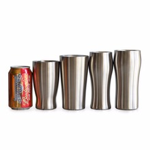 Premium Double Wall Vacuum Insulated Tumbler Brushed Stainless Steel Cup Mirror Polished Beer Mug