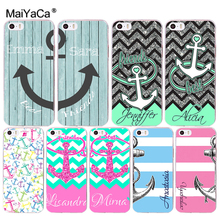 MaiYaCa Best Friend Wood Anchor phone case Accessories cover soft tpu for iPhone 8 7 6 6S Plus X 10 5 5S SE 5C 4 4S Coque Shell(China)