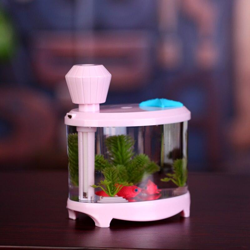 2016 new mini USB Fish tank humidifier Household Essential oil diffuser<br>