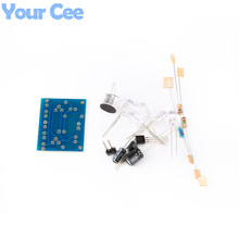 10 pcs Voice Control LED Melody Light LED DIY Electronic Production Kit Component Parts Design(China)