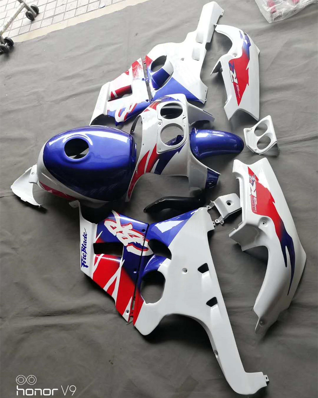 HONDA CBR400 Style Heel Plates 90 to 95 NC29 Polished Footpeg Guards CBR 400