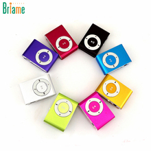 Briame NEW Big Promotion Mirror Portable MP3 player Mini Clip MP3 Player Sport Mp3 Music Player Walkman Lettore Mp3(China)