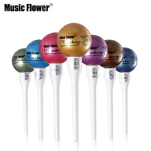 Music Flower Single Color Glitter Liquid Eyeshadow & Eye Liner Metallic Eye Shadow Professional Eye Makeup