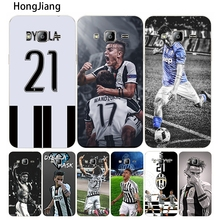 HongJiang Italy famous soccer 21 Paulo DYBALA cover phone case for Samsung Galaxy J1 J2 J3 J5 J7 MINI ACE 2016 2015 prime PRO(China)