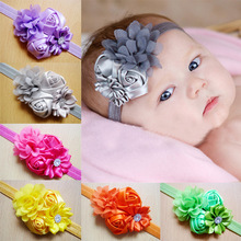 2017 newborn Headband Hair band For girls Flowers Headbands Kids children Hair Accessories Gifts