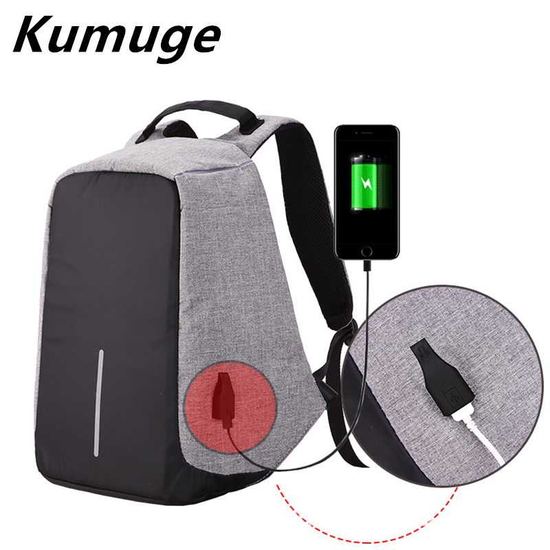 Laptop Backpack External USB Charge 15.6 Inch Laptop Bag Computer Backpack Anti-theft School Bag for Women Men Laptop Cover Case<br>