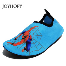 Quick Dry Children Boys Shoes Sneaker sport running Anti-slip for Swimming Pool/Beach Kids Shoes Boy Girl Sneakers Spider-Man