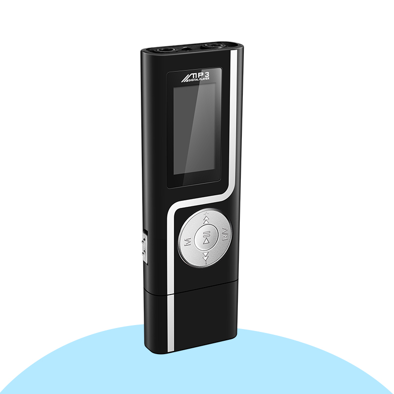 GERUIDA MP3 Player Faster Charge USB MP3 Mini Music Player Also U Disk 2G4G8G With FM Recording E-Book OTG Lanyard  (5)
