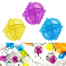 1Pc Magic Soft Laundry Ball Washing Machine Dryer Clothes Cleaner Color Random Dec4(China)