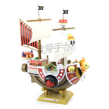 35cm Thousand Sunny Pirate Ship One Piece Action Figures Anime PVC brinquedos Collection Figures toys