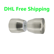 Modern Style 10pcs/lot Stainless Steel Decorative Door Knob Recessed Door Knob Furniture Accessories the Best Prices