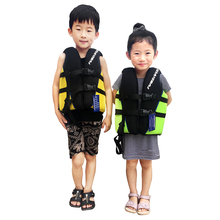Neoprene Kids Life Vest Surfing Floating Professional Life Jacket for Kids 3 to 10 years old Children Life Jacket Life Saving(China)