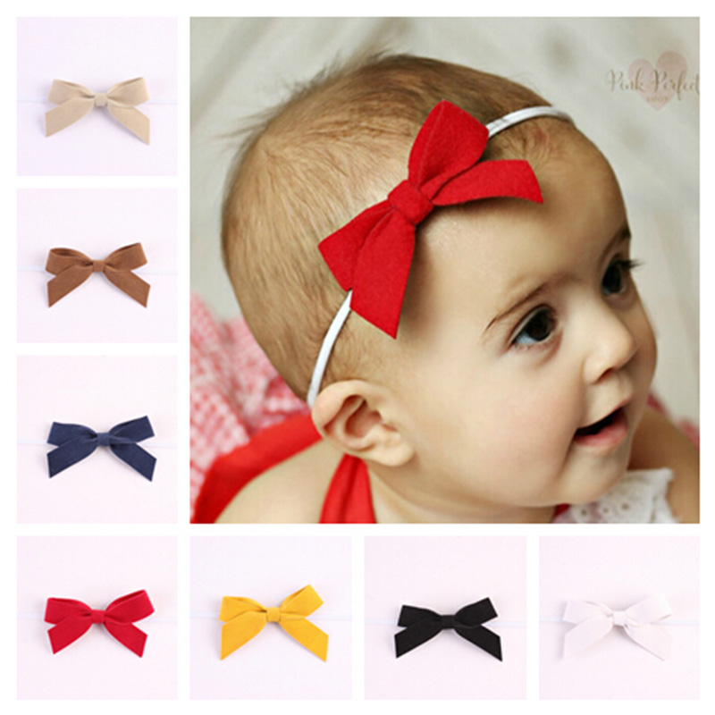 12pcs/lot Children Infant Baby Toddler Girls Leather Bowknot Headband Newborn Headwear Hair Bows Hair Band Accessories Bandana<br><br>Aliexpress
