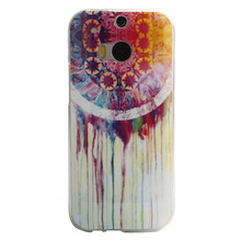 2017 Dream Catcher Rubber Ultrathin Back cover Soft TPU Gel Cover Case for HTC ONE M8 Mobile phone cases Back Cover Coque Capa(China)