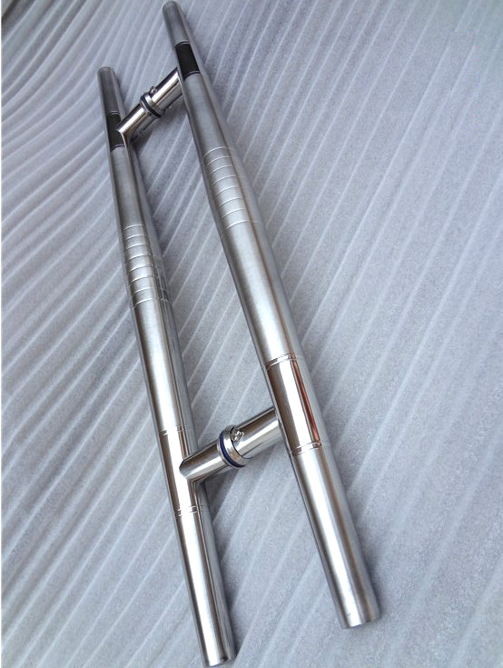 High Quality Storefront Door Pull Handles Tubing Stainless Steel For Entry/Glass/Wood Door<br>