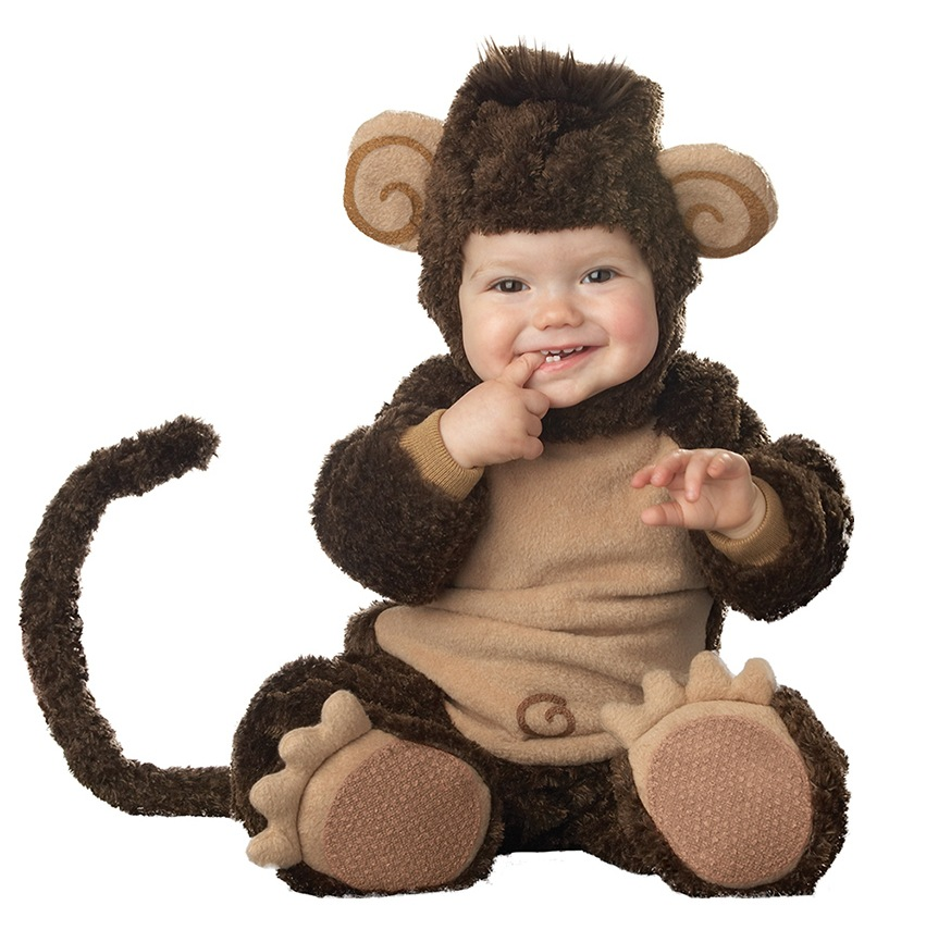 High Quality Baby Halloween Autumn Christmas Romper Animals Clothes Kids Cosplay Costume Rompers Children Monkey Clothing<br>