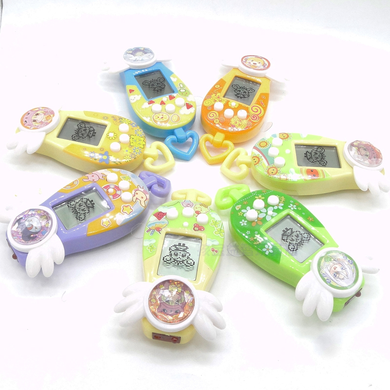 New 1Pc 90S Nostalgic 49Pets Virtual Cyber Pet Game Child Toy Key Tamagotchi Buckles Nice Gift LM139(China (Mainland))