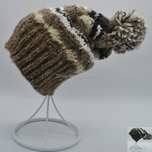 New pattern France Brand Winter Warm Thick Fashion  Snowboard Women's Hat