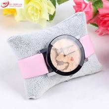 Free Shipping Best Price 3pcs Jewelry Display Bracelet Pillow Watch Anklet Holder Square Pillow Display Watch Stand WJ-412714
