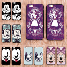 Minnie Mickey Dasiy for Samsung Galaxy s3 s4 s5 s6 s7 edge case Phone Case Cover Coque for iPhone 6 6s 7 Plus 5 5s Se 5c 4s(China)