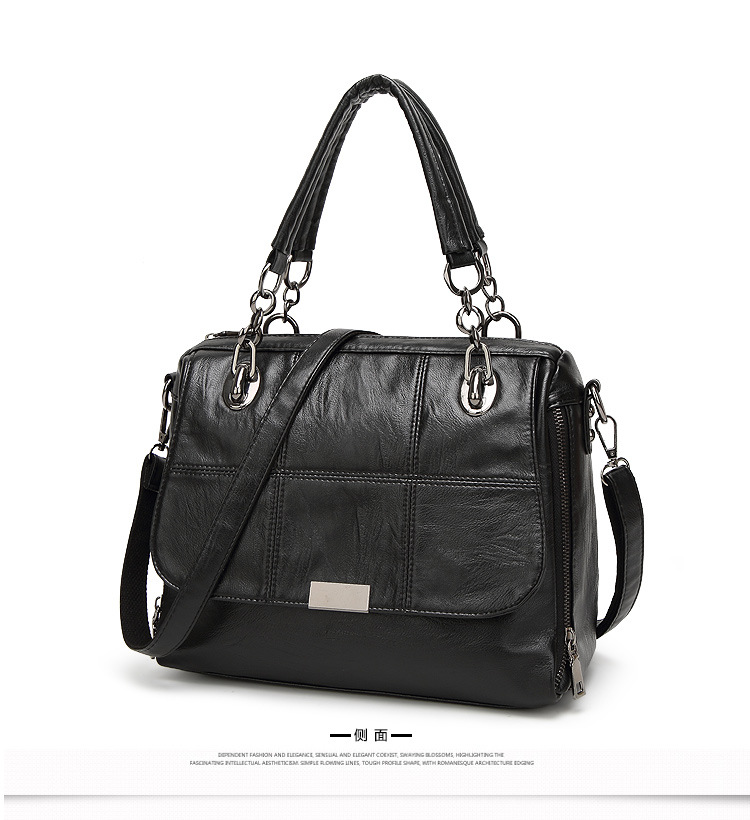 Fashion Pu Leather Handbags Casual Women Luxury Brand Shoulder Bag Designers for Women Ladies Hand Bags Crossbody Messenger Bag