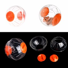1Pc Pet Hamster Balls Toy Exercise Rodent Mice Hamster Gerbil Rat Ball Plastic PLaying Toys 3-Color Small Animals Supplies C42