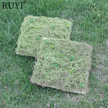 Artificial PA Grass Wall Green Plant Setting Wall For Home Company Building Wall Decoration