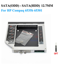 2nd hdd caddy SATA to SATA 12.7mm exchange DVD driver for HP Compaq 6535b Compaq 6730b, 6730s Notebook PC