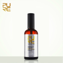 PURC Moroccan argan oil for hair care and protects damaged hair for moisture hair 100ml hair salon products 11.11 PURE(China)