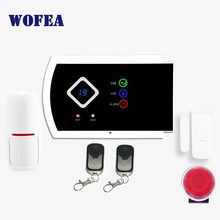 Free shipping wireless & wired 101 zone ISO & android APP support home security GSM alarm system(China)