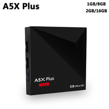 Buy A5X Plus Smart TV Box Android 7.1 RK3328 Quad Core 2GB 16GB USB 3.0 Wifi VP9 H.265 HDR10 4K UHD Media Player PK X96 TX3 Mini H96 for $17.18 in AliExpress store