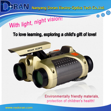 Illuminated Toy Night Vision Binoculars X30 JYW-1226 4 times Playing Cover Camo Double Barrel Puzzle Cartoon Binoculars 2015 New(China)