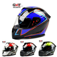 GXT 358 anti-fog dual lens full face helemt capacete cascos motorcycle helmet motoqueiro electric car Safety helmets