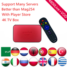 Buy Swedish IPTV Android TV Box AVOV Tvonline+ Nordic Europe Spain Dutch IPTV Eternally Channels smart tv box Better Mag254 for $86.40 in AliExpress store