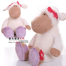 New Hot Cute 25cm 38cm 50cm 80cm Jolly Mah Turban Sheep Animal Plush Toy 1pcs Children Birthday Christmas Present Lovers Gifts(China)
