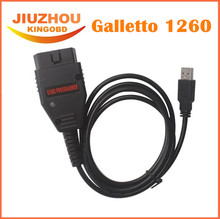 Promotion!! 2017 New Top Latest Version OBD2 Galletto1260 Flasher EOBD/OBDII chip tuning tool Galletto 1260 ECU flash tool Remap(China)