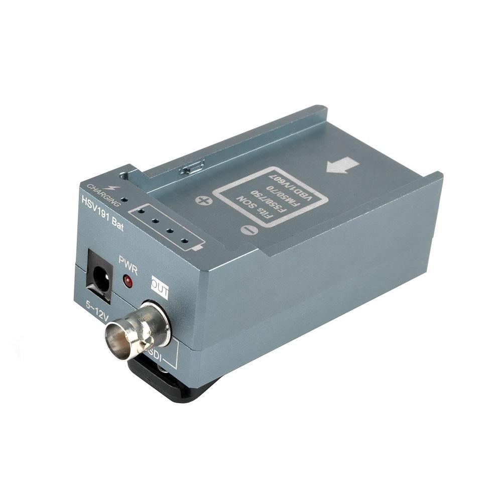 HSV191Bat HDMI to SDI Converter with Battery Charging 1080p Mini HDMI to SD-SDI HD-SDI 3G-SDI Adapter Converter (4)
