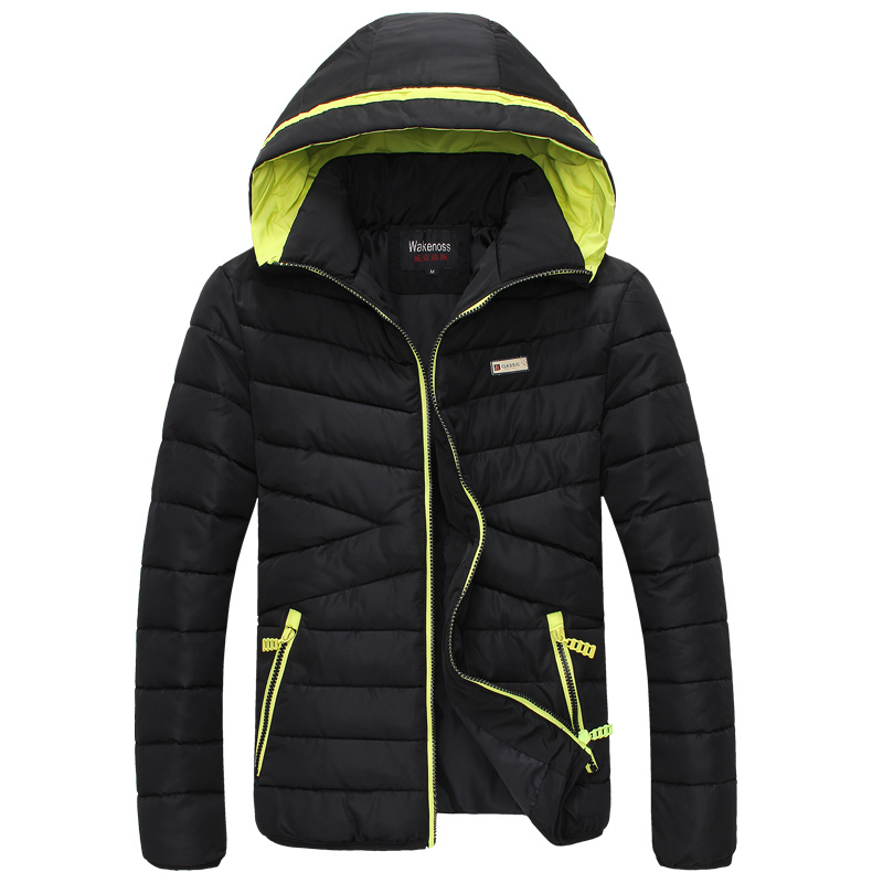 New Brand New Men Winter Jackets, Fashion Down &amp; Parkas casual Hood Warm Windproof Winter Jacket Men Casual Mens JacketОдежда и ак�е��уары<br><br><br>Aliexpress