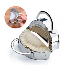 New Pastry Tools Stainless Steel Dumpling Maker Wraper Dough Cutter Pie Ravioli Dumpling Mould Kitchen Accessories