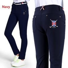 Good quality Lady Clothes Women Pants XS-L Trousers Sportwear female Slim Pant Trouser skinny pencil Golf/Tennis Pant Quick Dry(China)