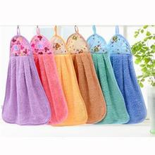 33 x 48 cm Quick Dry Wall Hanging Mini Towel Baby Towels Microfiber Wipe Hand Towel Hanging Wash Bath Towel