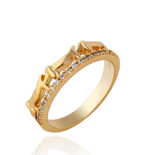 Unique creative new Men and women set auger pinky rings tail rings female design model KUNIU WJ0019