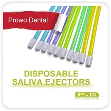 100pcs Dental Disposable Saliva Ejectors Dentistry supplies disposable material aspirator tube
