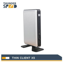Newest Linux Embedded Thin Client X5 PC Station Mini PC Connect Server via RDP8.0 Protocol with Free Shipping