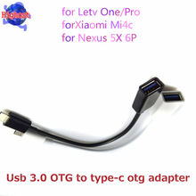 2017 new Type-C USB To Female USB Host Cable OTG reader Mini USB Cable For Android Tablet & mobile phone for MacBook for LETV