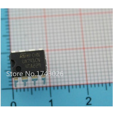 50PCS DIP8 IC UA741CN UA741CP UA741 OP Amp LM741 741 TI IC OPAMP GP 1MHZ Original ...(China)